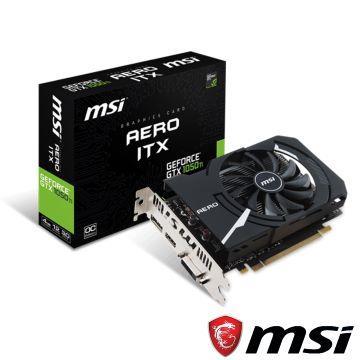 MSI微星 GTX 1050 Ti AERO 4G OCV1顯示卡