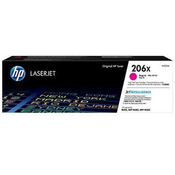 HP 206X 洋紅色原廠 LaserJet 碳粉匣