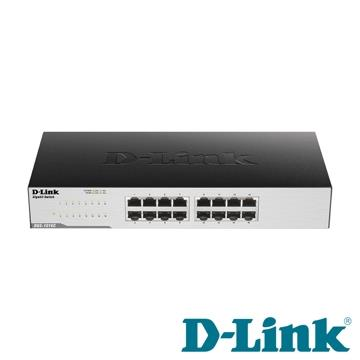 D-Link友訊 超高速網路交換器 DGS-1016C