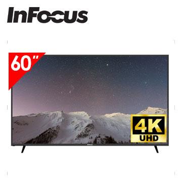 Infocus 60吋 UHD LED智慧連網液晶電視