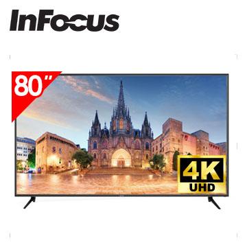 Infocus 80吋 UHD LED智慧連網液晶電視
