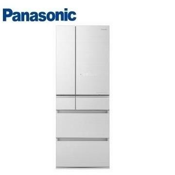 (福利品)Panasonic 500公升六門變頻玻璃冰箱