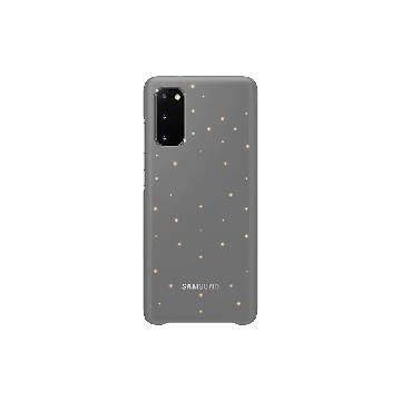 SAMSUNG Galaxy S20 原廠LED智慧背蓋-灰