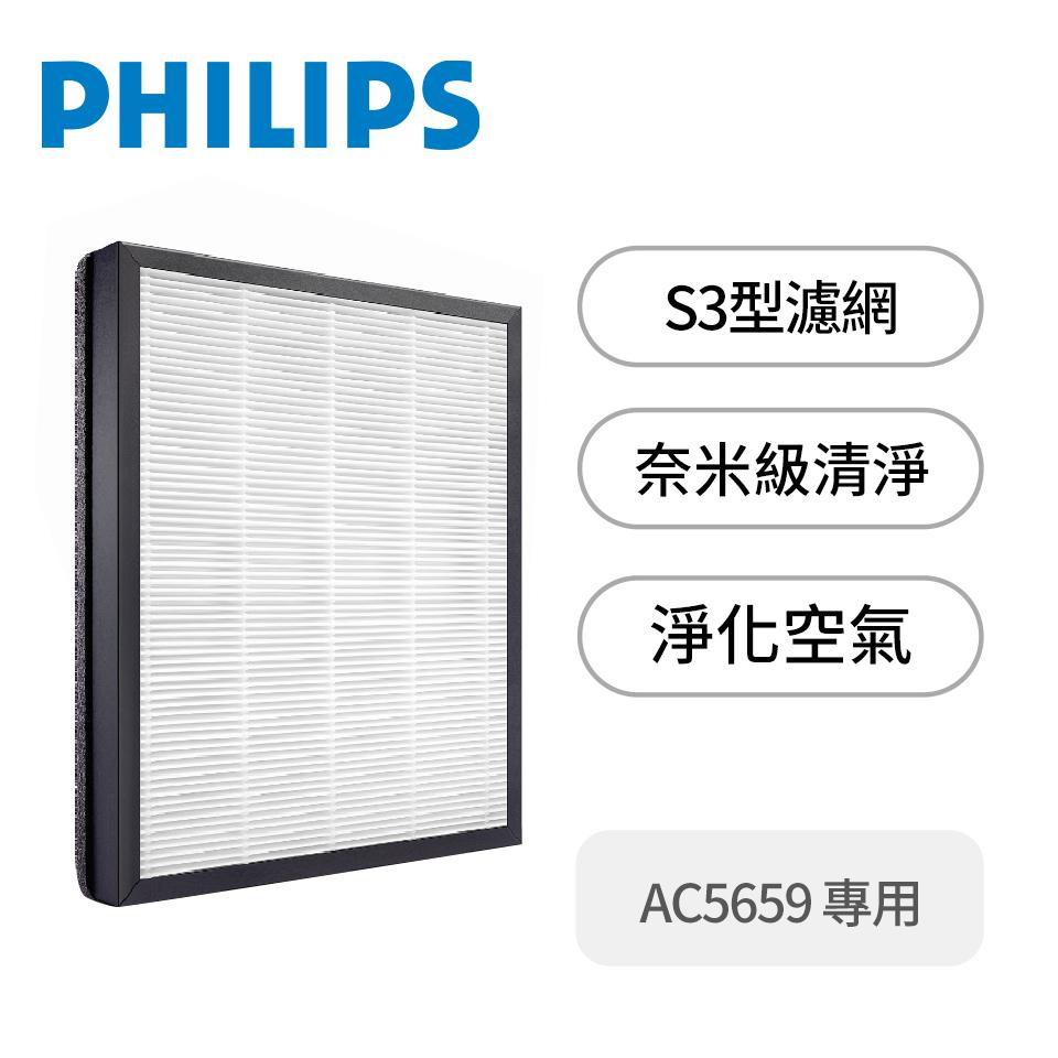 飛利浦PHILIPS HEPA濾網(AC5659用)