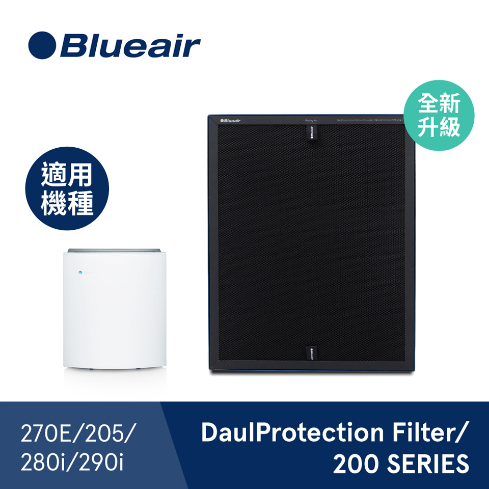 【兩入組】Blueair 280i&290i活性碳濾網(DP)
