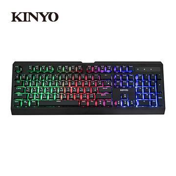 KINYO 青軸輕機械發光鍵盤