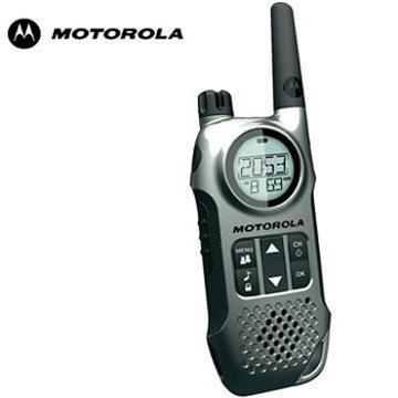 MOTOROLA 長距離免執照無線對講機 藍