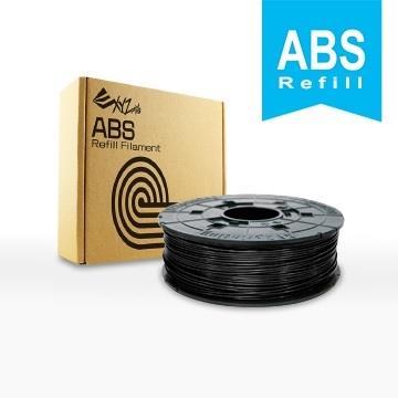 XYZ Printing 3D列印ABS線材補充包(黑色)