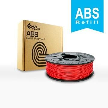 XYZ Printing-3D列印ABS線材補充包(紅色)