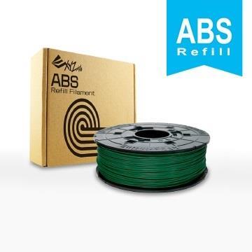 XYZ Printing 3D列印ABS線材補充包(墨綠色)