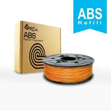 XYZ Printing-3D列印ABS線材補充包(陽橙色)