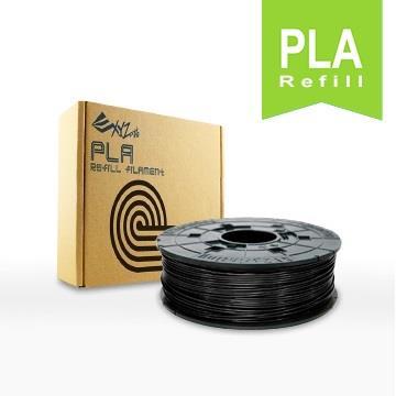 XYZ Printing 3D列印PLA線材補充包(黑色)