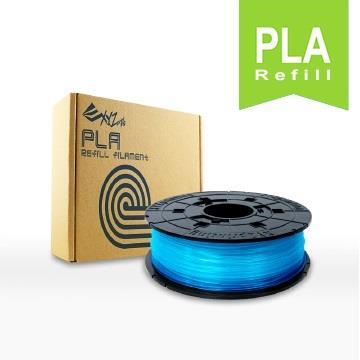 XYZ Printing 3D列印PLA線材補充包(透明藍)