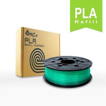 XYZ Printing 3D列印PLA線材補充包(透明綠)