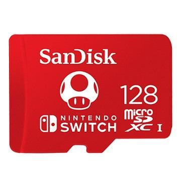 SanDisk晟碟 Switch專用128G記憶卡