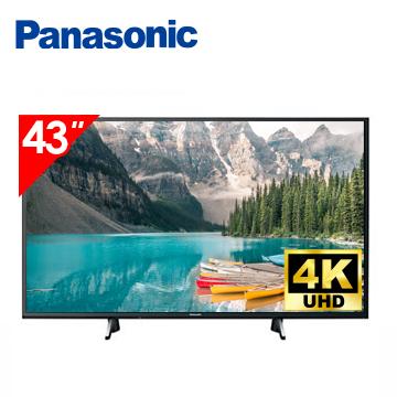 國際牌Panasonic 43型 六原色 4K 智慧聯網顯示器