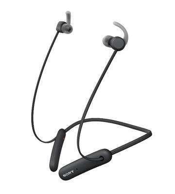 (福利品)SONY索尼 無線藍牙頸掛式耳機-黑