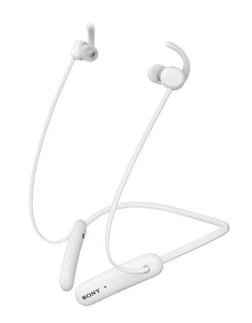 (福利品)SONY索尼 無線藍牙頸掛式耳機-白