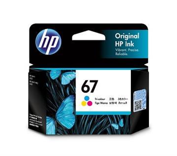 HP 67 彩色原廠墨水匣