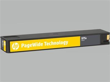 惠普HP 975X 黃色原廠墨水匣