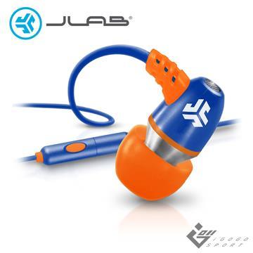 JLab Metal 入耳式耳機 橘 Metal Orange