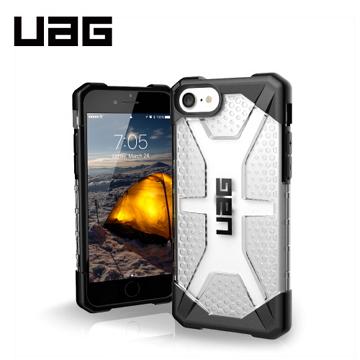 UAG iPhone 8/SE 耐衝擊保護殼-透明 112043114343