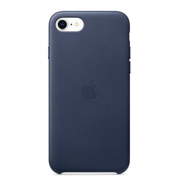 Apple iPhone SE 皮革保護殼-午夜藍色