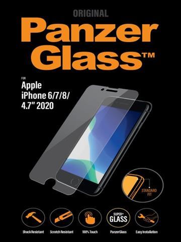 PanzerGlass iPhone SE 耐衝擊玻璃保護貼