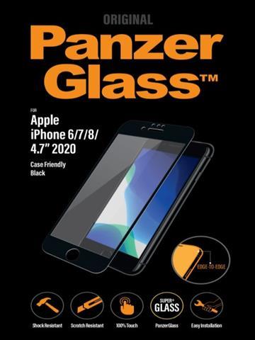 PanzerGlass iPhone SE 2.5D耐衝擊玻璃保貼