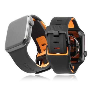 UAG Apple Watch 42/44mm 簡約舒適錶帶-黑