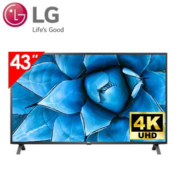 樂金LG 43型4K AI語音物聯網電視