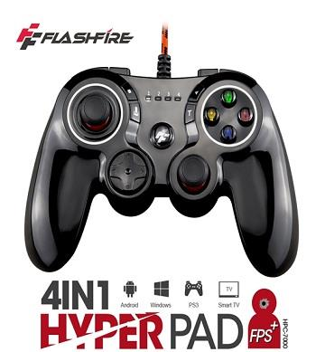 FlashFire 4in1 HYPER PAD 有線遊戲手把