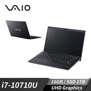 VAIO SX14 筆記型電腦LTE 深夜黑 (W10P/i7-10710U/14U/16GD3/1TBPCIe)