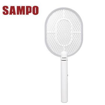 聲寶SAMPO 日系USB充電捕蚊拍