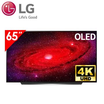 樂金LG 65型 OLED 4K AI語音物聯網電視 OLED65CXPWA
