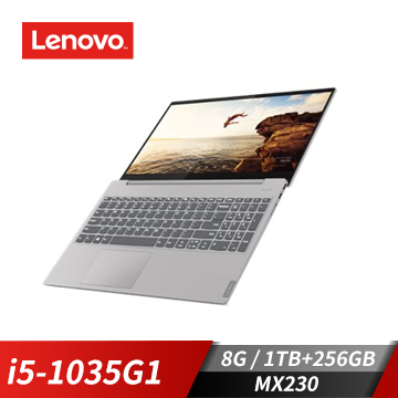 Lenovo聯想 IdeaPad S340筆記型電腦(i5-1035G1/MX230/8GB/1T+256GB) S340-15IIL_81WL0055TW
