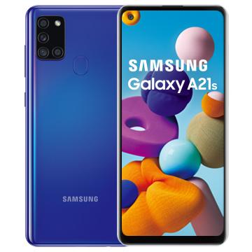 三星SAMSUNG Galaxy A21s 智慧型手機 幻石藍