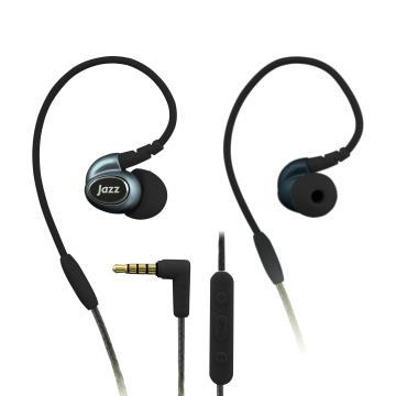 INTOPIC 多功能舒適型耳機麥克風 黑