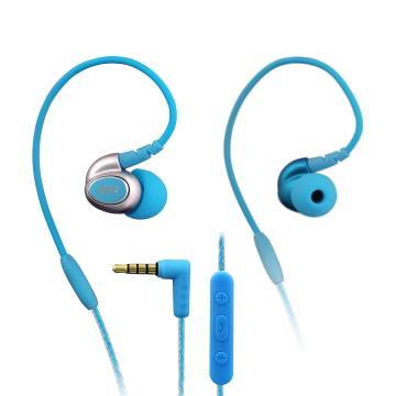 INTOPIC 多功能舒適型耳機麥克風-藍