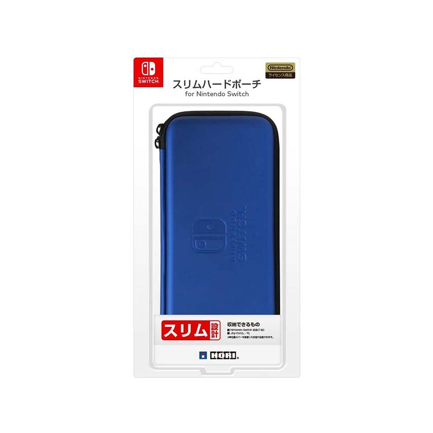 HORI Switch 薄型硬殼包 藍色