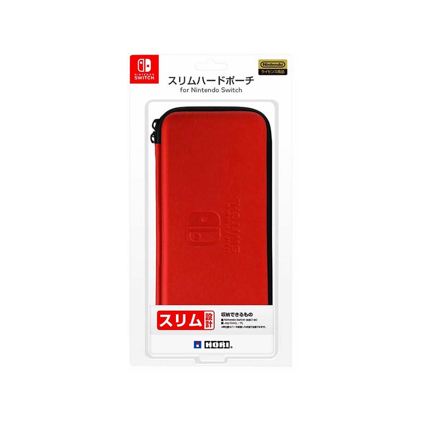 HORI Switch 薄型硬殼包 紅色