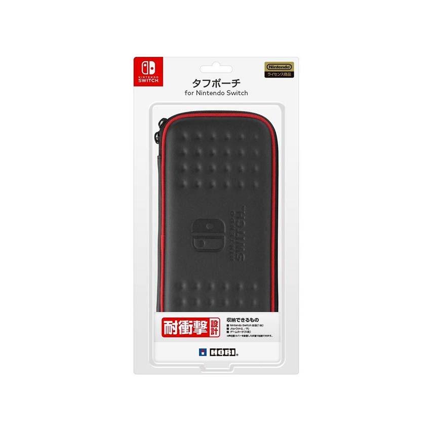 HORI Switch 耐衝擊硬殼包 黑紅色