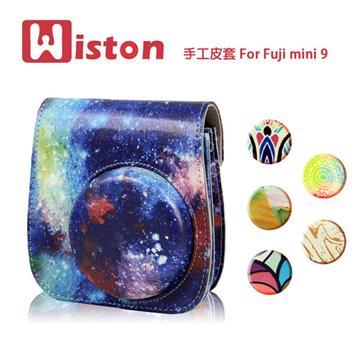 Wiston 手工皮套 拍立得相機 For Fuji mini 9-八重櫻
