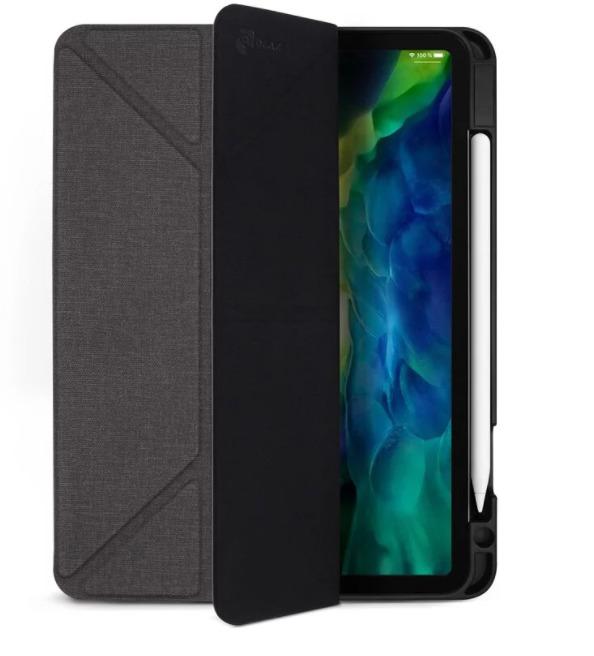 JTLEGEND iPad Pro 11布紋皮套-石墨黑