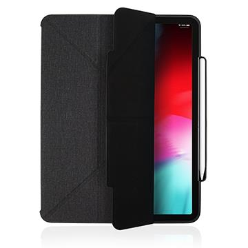 "JTLEGEND iPad Pro 12.9布紋皮套-石墨黑 iPad 12.9"" 石墨黑"
