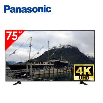 (居家防疫福利機)國際牌Panasonic 75型 4K 智慧聯網顯示器