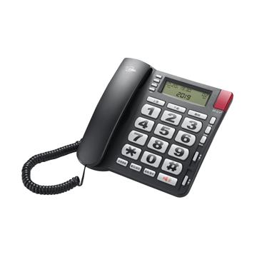 T.C.STAR 來電顯示大字鍵有線電話