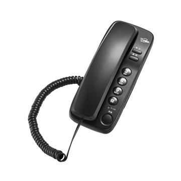 T.C.STAR 壁掛式大按鍵有線電話 黑 TCT-PH500BK