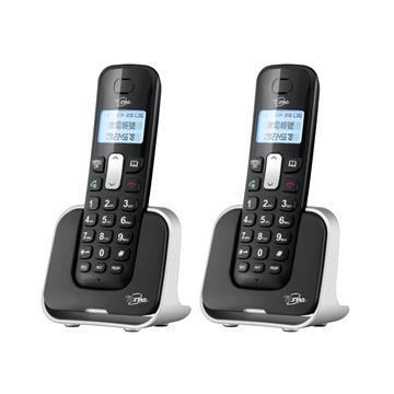 T.C.STAR 2.4G雙制式來電顯示雙機無線電話