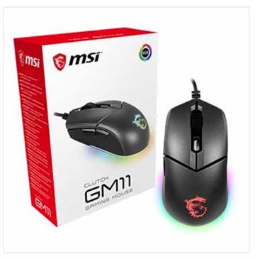 MSI微星 Clutch GM11 RGB電競滑鼠